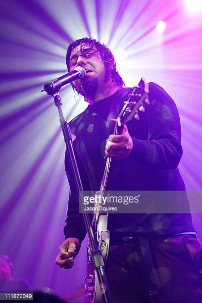 Chino Moreno of the Deftones during Deftones Perform at Memorial Hall at Memorial Hall in Kansas City, Kansas, United States.