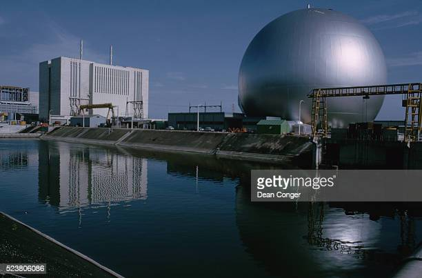 Chinon Nuclear Power Plant and Reactor