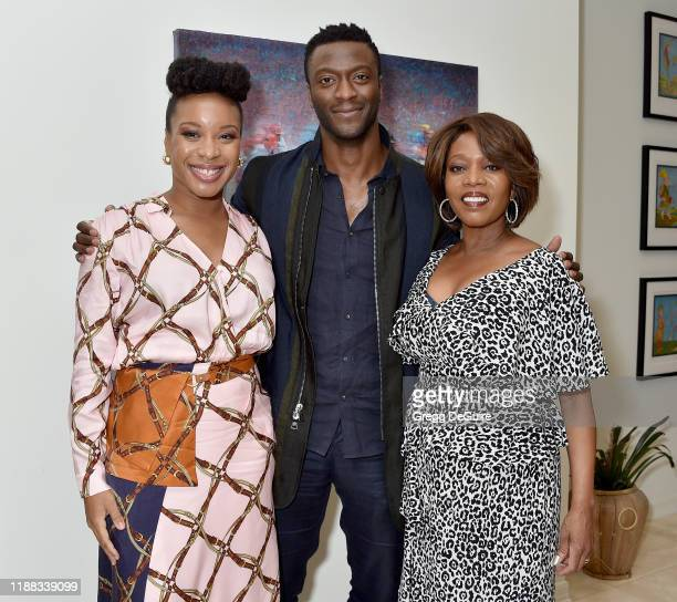 Chinonye Chukwu Aldis Hodge and Alfre Woodard attend the Los Angeles Special Screening of Clemency on December 12 2019 in Los Angeles California