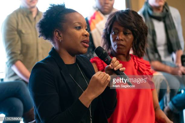 Chinonye Chukwu and Alfre Woodard attend Clemency A Conversation with the Filmmakers Cast at The Blackhouse Foundation on January 26 2019 in Park...