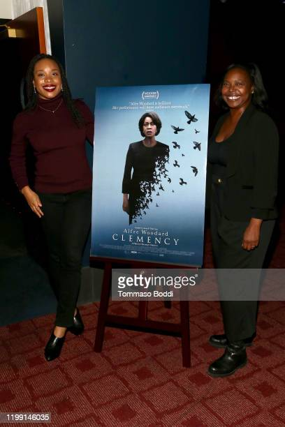 Chinonye Chukwu and Jacqueline Lyanga attend the Film Independent Spirit Awards Screening Series Presents Clemency at ArcLight Culver City on January...