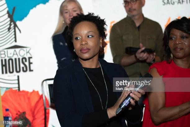 Chinonye Chukwu attends Clemency A Conversation with the Filmmakers Cast at The Blackhouse Foundation on January 26 2019 in Park City Utah