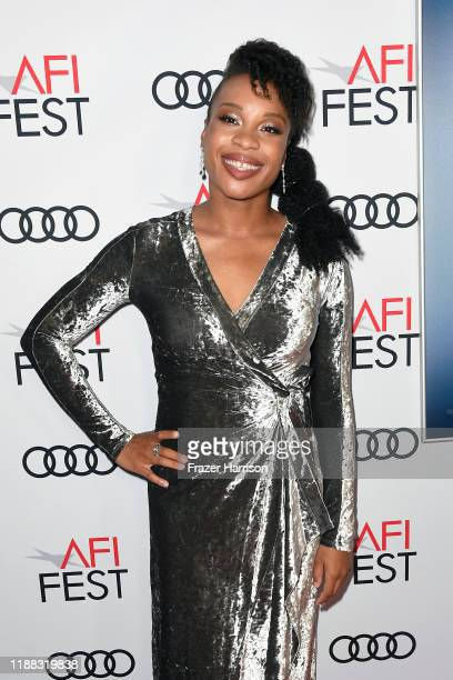 Chinonye Chukwu attends the Clemency Premiere at AFI FEST 2019 presented by Audi at TCL Chinese 6 Theatres on November 17 2019 in Hollywood California