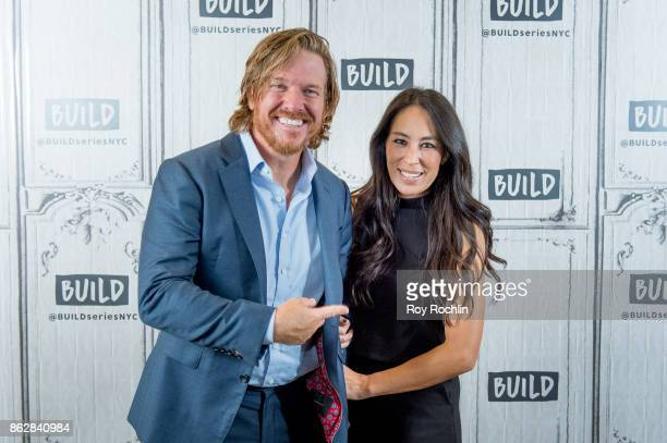 """Chip and Joanna Gaines discuss """"Capital Gaines: Smart Things I Learned Doing Stupid Stuff"""" and the ending of the show """"Fixer Upper"""" with the Build..."""
