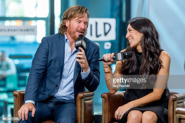 Chip and Joanna Gaines discuss 'Capital Gaines Smart Things I Learned Doing Stupid Stuff' and the ending of the show 'Fixer Upper' with the Build...