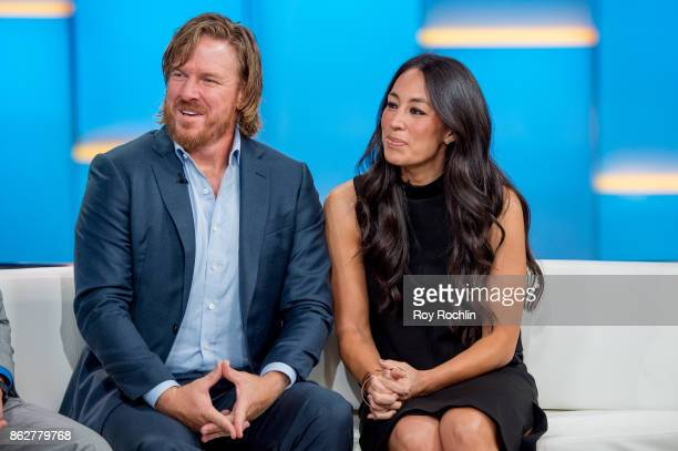 Chip and Joanna Gaines visit Fox Friends to discuss the book 'Capital Gaines' and the ending of the show 'Fixerupper' at Fox News Studios on October...