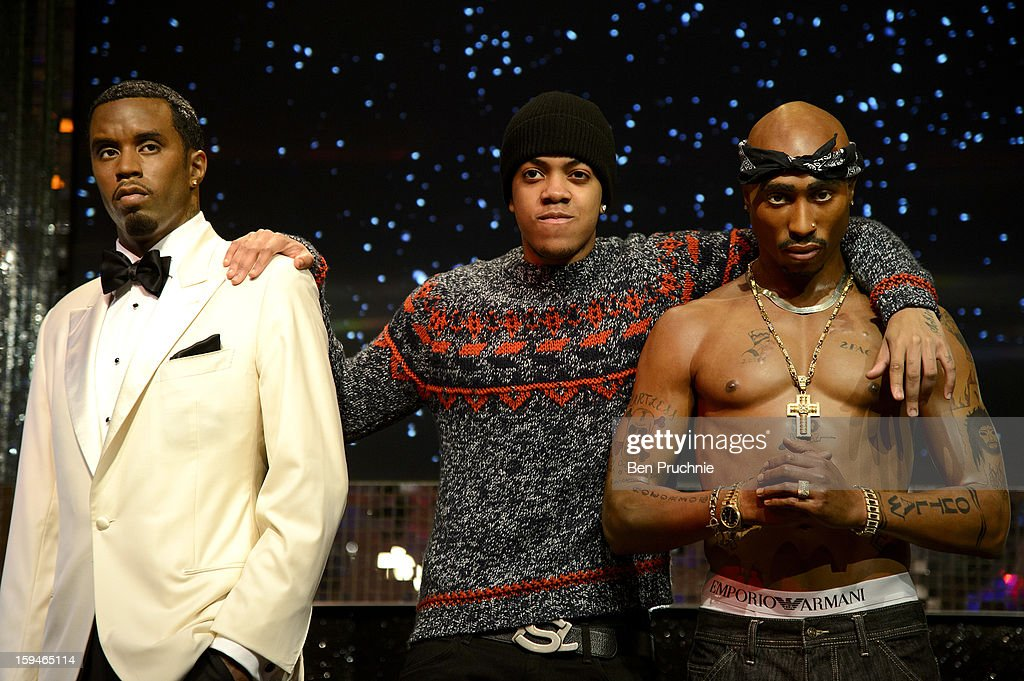 Chip (Formerly Chipmunk) attends a photocall to launch the new wax figures of Rap stars Tupac Shakur, Snoop Dogg, The Notorious B.I.G and P Diddy exhibited together for the first time in London at Madame Tussauds on January 14, 2013 in London, England.