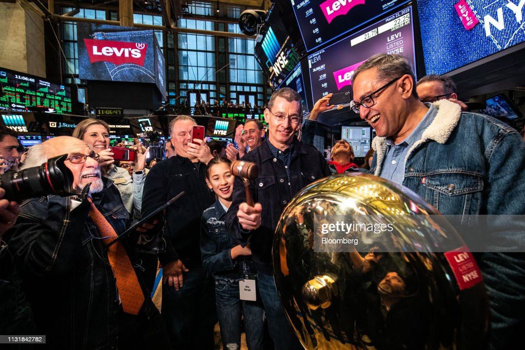 NY: Trading On The Floor Of NYSE As Levi Strauss & Co. Releases IPO