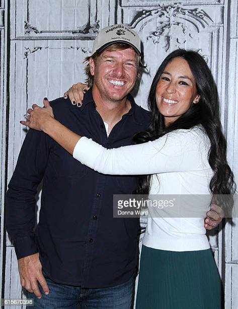Chip Gaines and Joanna Gaines appear to promote The Magnolia Story during the AOL BUILD Series at AOL HQ on October 19 2016 in New York City