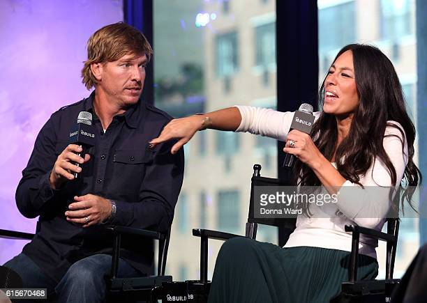 Chip Gaines and Joanna Gaines appear to promote 'The Magnolia Story' during the AOL BUILD Series at AOL HQ on October 19 2016 in New York City