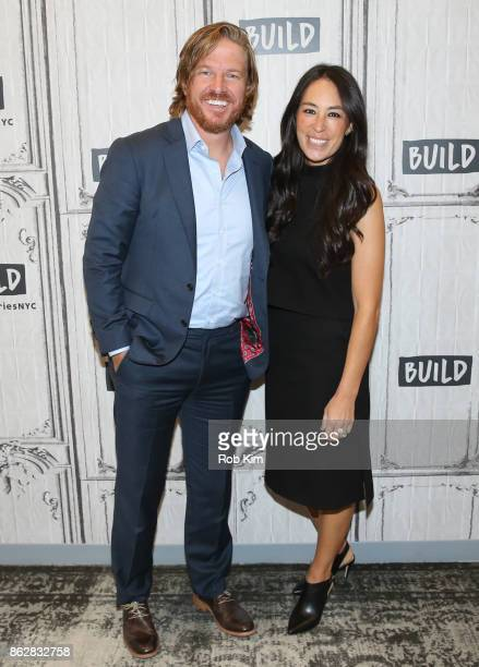 Chip Gaines and Joanna Gaines attend the Build Series at Build Studio on October 18 2017 in New York City