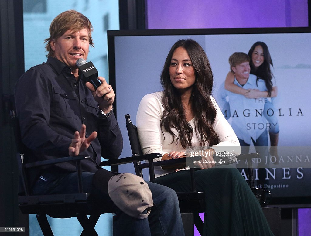"""The Build Series Presents Chip & Joanna Gaines Discussing Their New Book """"The Magnolia Story"""" : News Photo"""