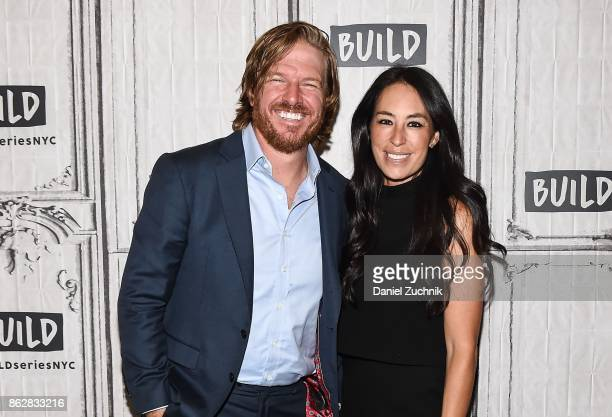 Chip Gaines and Joanna Gaines attend the Build Series to discuss the new book 'Capital Gaines Smart Things I Learned Doing Stupid Stuff' at Build...