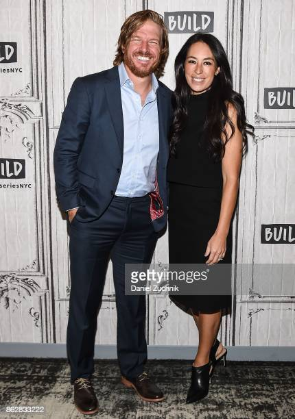 Chip Gaines and Joanna Gaines attend the Build Series to discuss the new book Capital Gaines Smart Things I Learned Doing Stupid Stuff at Build...