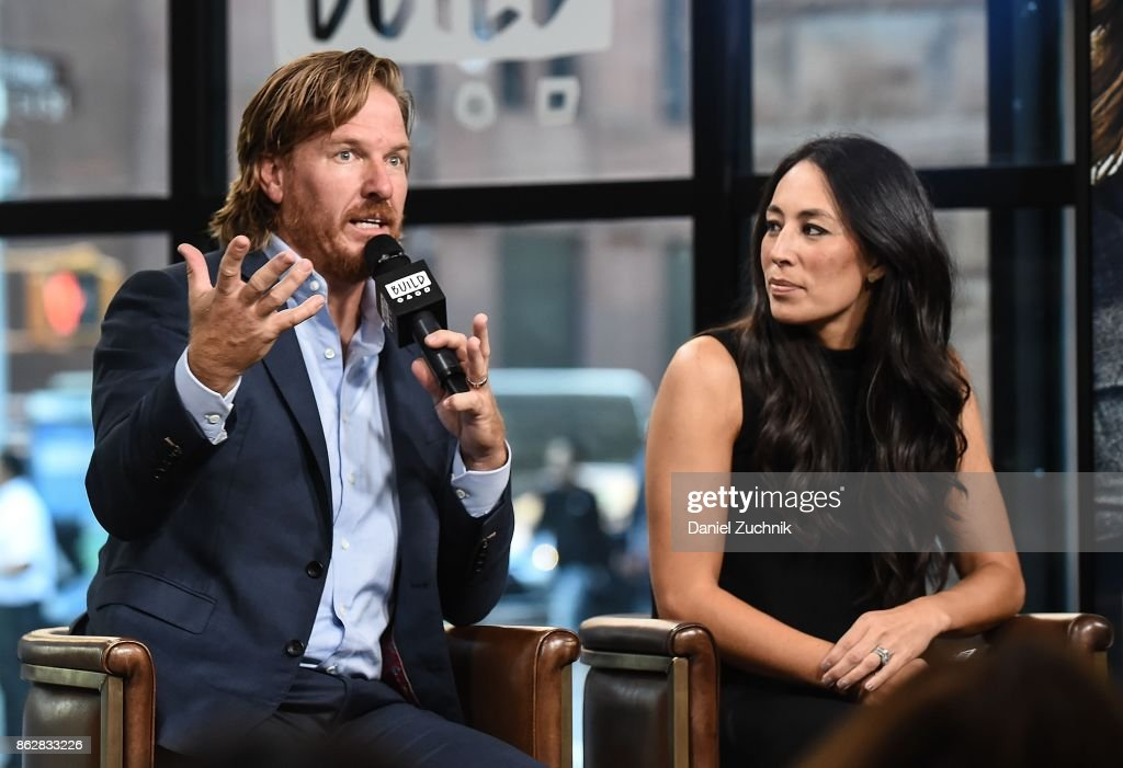 "Build Presents Chip & Joanna Gaines Discussing Their Book ""Capital Gaines: Smart Things I Learned Doing Stupid Stuff"" : News Photo"