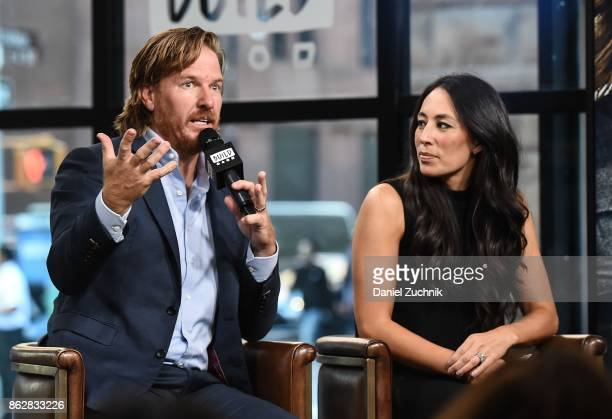 """Chip Gaines and Joanna Gaines attend the Build Series to discuss the new book """"Capital Gaines: Smart Things I Learned Doing Stupid Stuff"""" at Build..."""