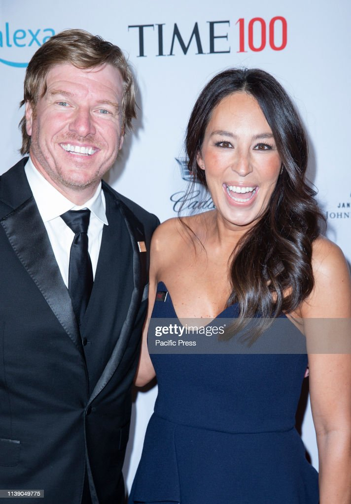 Chip Gaines and Joanna Gaines attend the TIME 100 Gala 2019... : News Photo