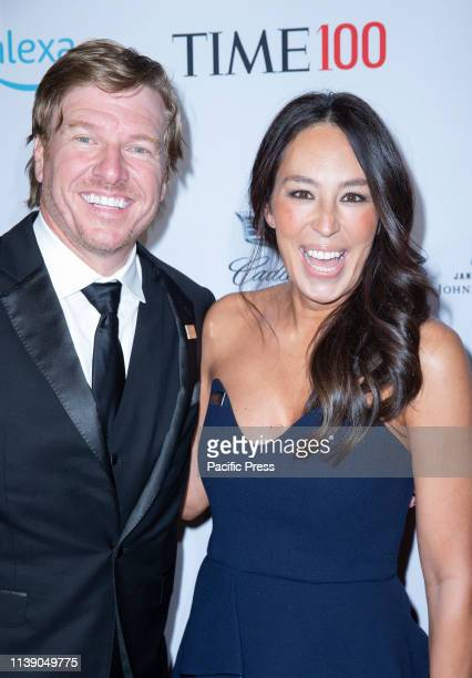 Chip Gaines and Joanna Gaines attend the TIME 100 Gala 2019 at Jazz at Lincoln Center.