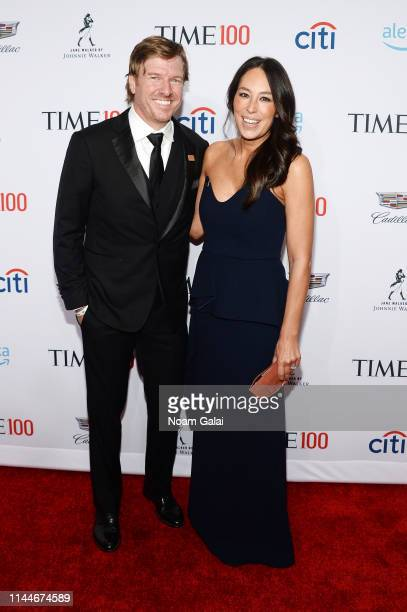 Chip Gaines and Joanna Gaines attend the TIME 100 Gala 2019 Lobby Arrivals at Jazz at Lincoln Center on April 23, 2019 in New York City.