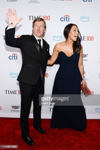 Chip Gaines and Joanna Gaines attend the TIME 100 Gala 2019 Lobby Arrivals at Jazz at Lincoln Center on April 23 2019 in New York City