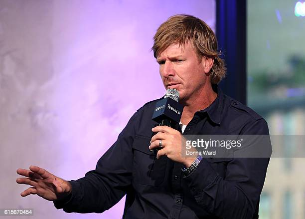 """Chip Gaines appears to promote """"The Magnolia Story"""" during the AOL BUILD Series at AOL HQ on October 19, 2016 in New York City."""