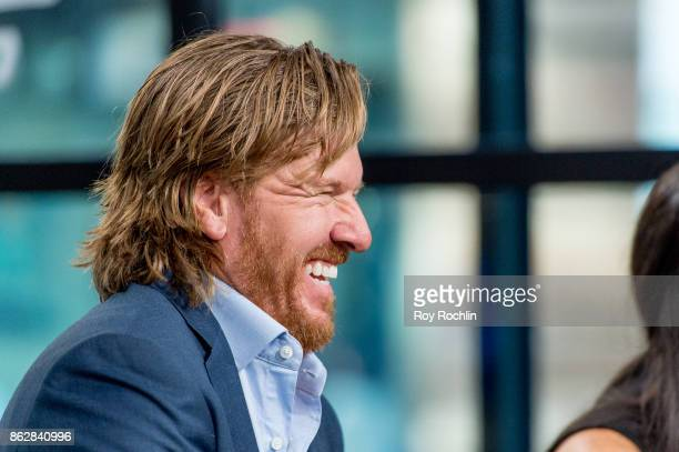 Chip Gaines discusses 'Capital Gaines Smart Things I Learned Doing Stupid Stuff' and the ending of the show 'Fixer Upper' with the Build Series at...