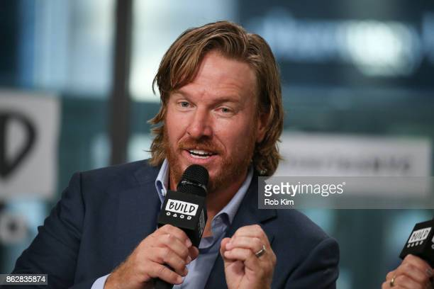 """Chip Gaines discusses new book, """"Capital Gaines: Smart Things I Learned Doing Stupid Stuff"""" at Build Studio on October 18, 2017 in New York City."""