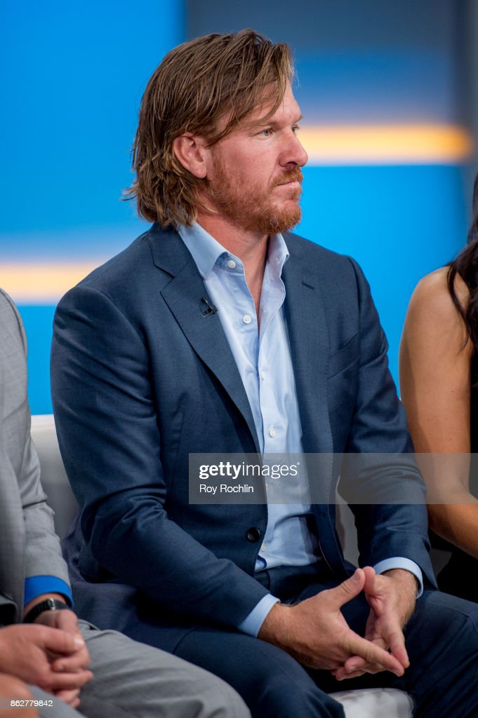 """Chip And Joanna Gaines Visit """"Fox & Friends"""" : News Photo"""