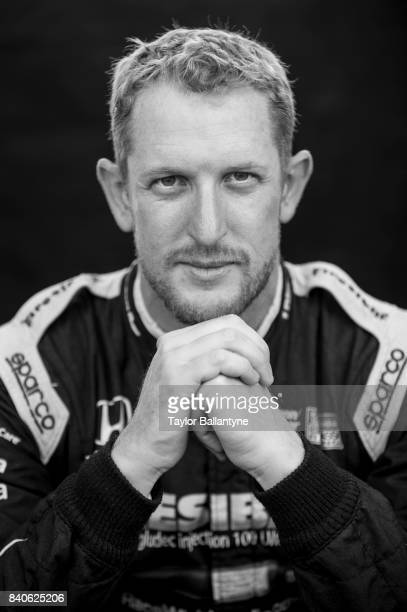 Chip Ganassi Racing driver Charlie Kimball is photographed for Sports Illustrated on August 19 2017 at Pocono Raceway Verizon IndyCar Series at Long...