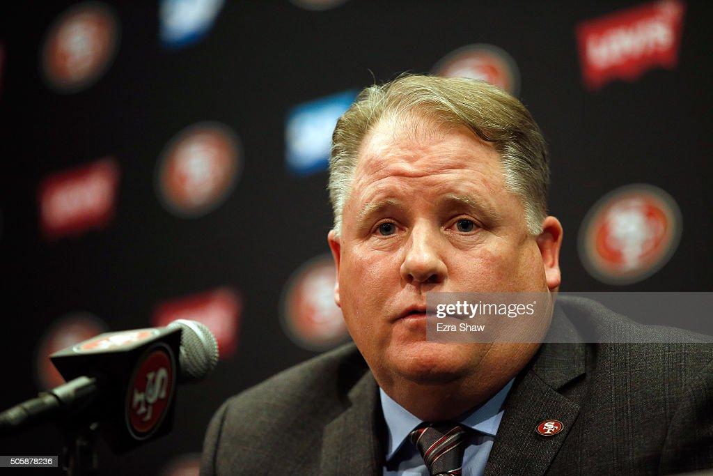 San Francisco 49ers Introduce Chip Kelly : News Photo