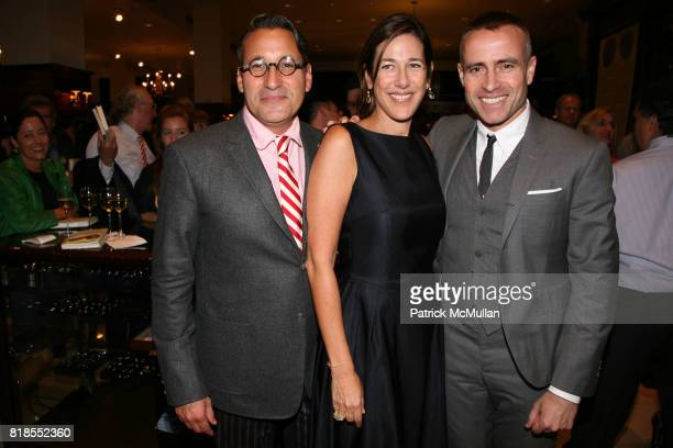 Chip Kidd Lisa Birnbach and Thom Browne attend The launch of 'True Prep' at Brooks Brothers on September 14 2010 in New York