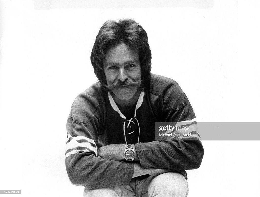 Chip Monck Portrait : News Photo