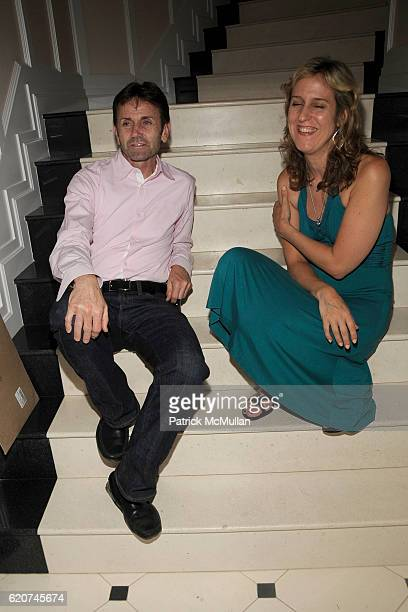 Chip Sullivan and Louise Kaufman attend DreamWorks Pictures Screening of GHOST TOWN and After Party Hosted by SARA and PATRICK HANDREKE at GOOSE...
