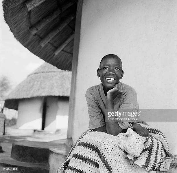 Chipo Maponga pictured at home in the Glendale area of Zimbabwe Chipo contracted HIV while working as a teacher in Harare and returned to her home...