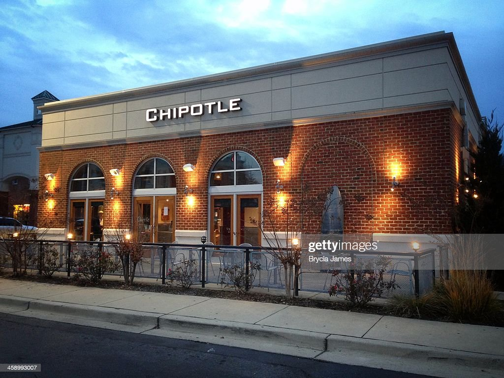 Chipotle at Twilight : Stock Photo