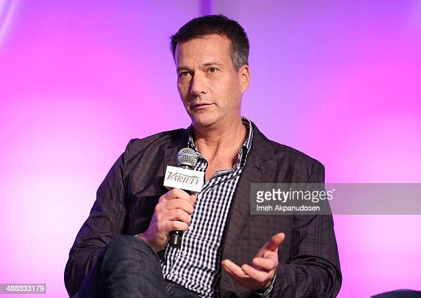 Chipotle chief marketing and development officer Mark Crumpacker attends Variety's Spring 2014 Entertainment and Technology Summit at The RitzCarlton...