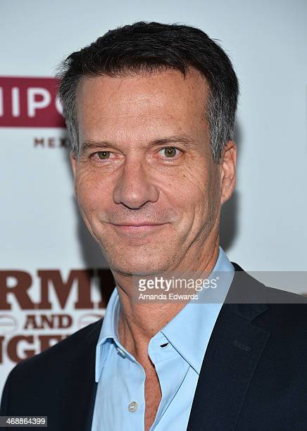 Chipotle Chief Marketing Officer Mark Crumpacker arrives at the Chipotle World Premiere of web series 'Farmed And Dangerous' at the DGA Theater on...