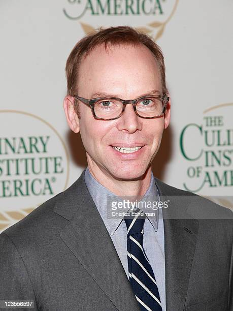 Chipotle Founder Steve Ells attends The Culinary Institute of America's 2011 Augie Awards at The New York Marriott Marquis on March 30 2011 in New...
