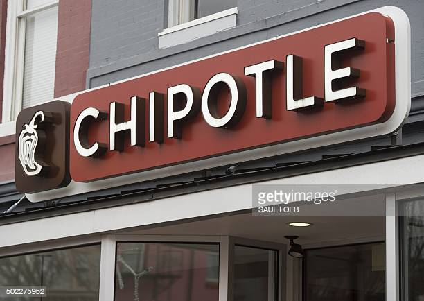 A Chipotle Mexican Grill restaurant is seen in Washington DC December 22 2015 Chipotle shares tumbled on news that the Centers for Disease Control...