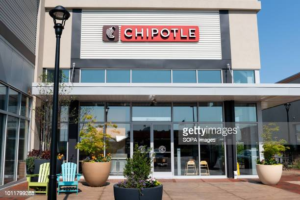 Chipotle restaurant in Teterboro New Jersey