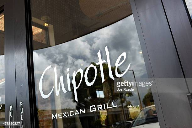Chipotle restaurant is seen on March 5 2014 in Miami Florida The Mexican fast food chain is reported to have tossed around the idea that it would...