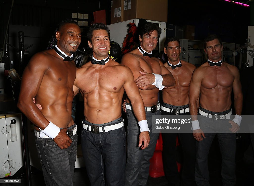 Chippendales is Pumping Up To Celebrate 35 Years As The #1 Male Revue In The World With A One Night Only Celebration Featuring Performers From The Last Three Decades at Rio All-Suite Hotel & Casino : News Photo