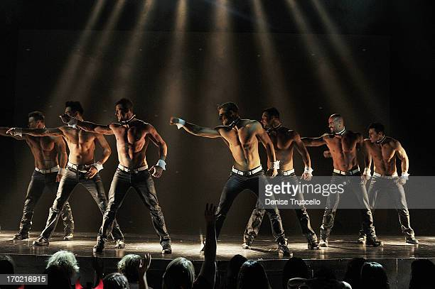Chippendales performs at the Rio AllSuite Hotel and Casino on June 8 2013 in Las Vegas Nevada