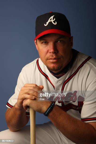 Chipper Jones of the Atlanta Braves poses during Photo Day on February 25 2008 at Disney's Wide World of Sports in Kissimmee Florida
