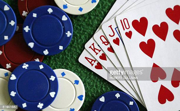 Chips a deck of cards and a green mat the poker set was one of the hottest items on Santa's list this past holiday season in the United States...