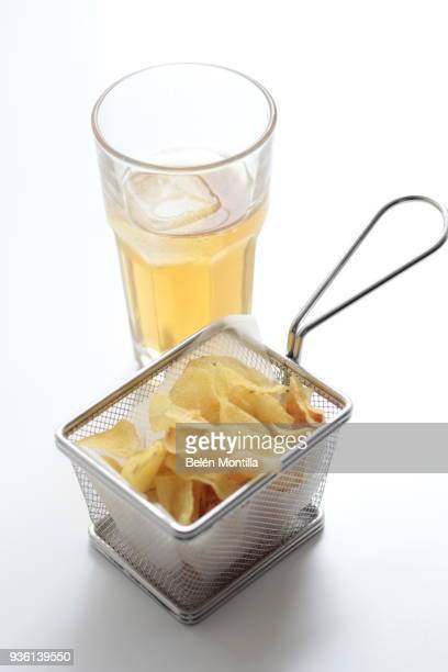 Chips and soft-drink snack
