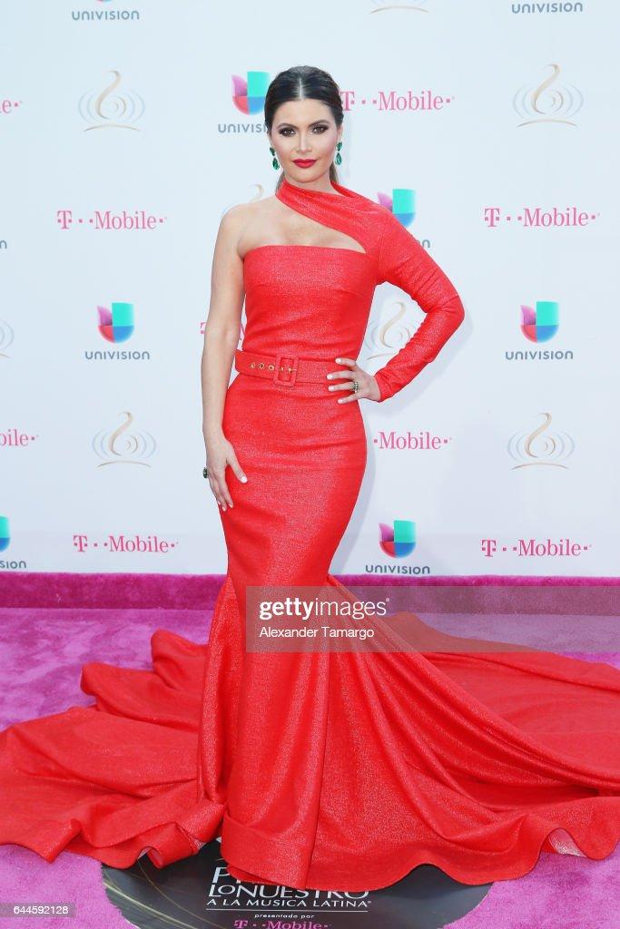 Chiqui Delgado attends Univision's 29th Edition of Premio Lo Nuestro A La Musica Latina at the American Airlines Arena on February 23, 2017 in Miami, Florida.