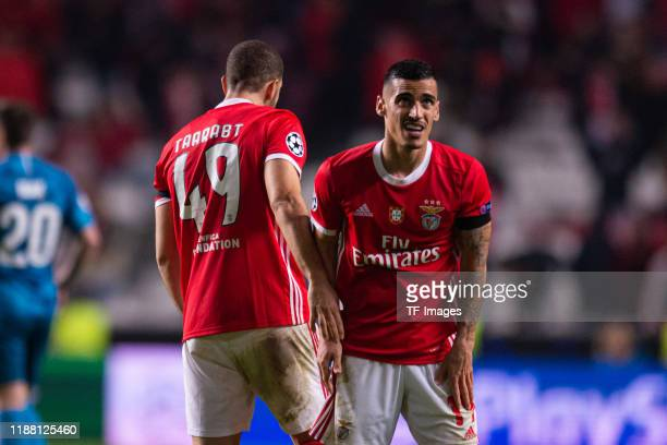 Chiquinho of SL Benfica looks on during the UEFA Champions League group G match between SL Benfica and Zenit St Petersburg at Estadio da Luz on...