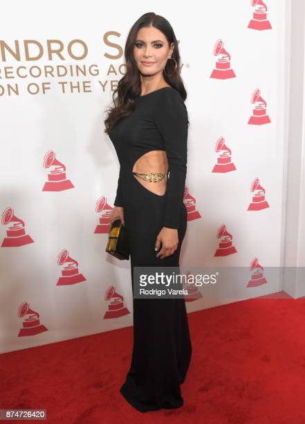 Chiquinquirá Delgado attends the 2017 Person of the Year Gala honoring Alejandro Sanz at the Mandalay Bay Convention Center on November 15 2017 in...