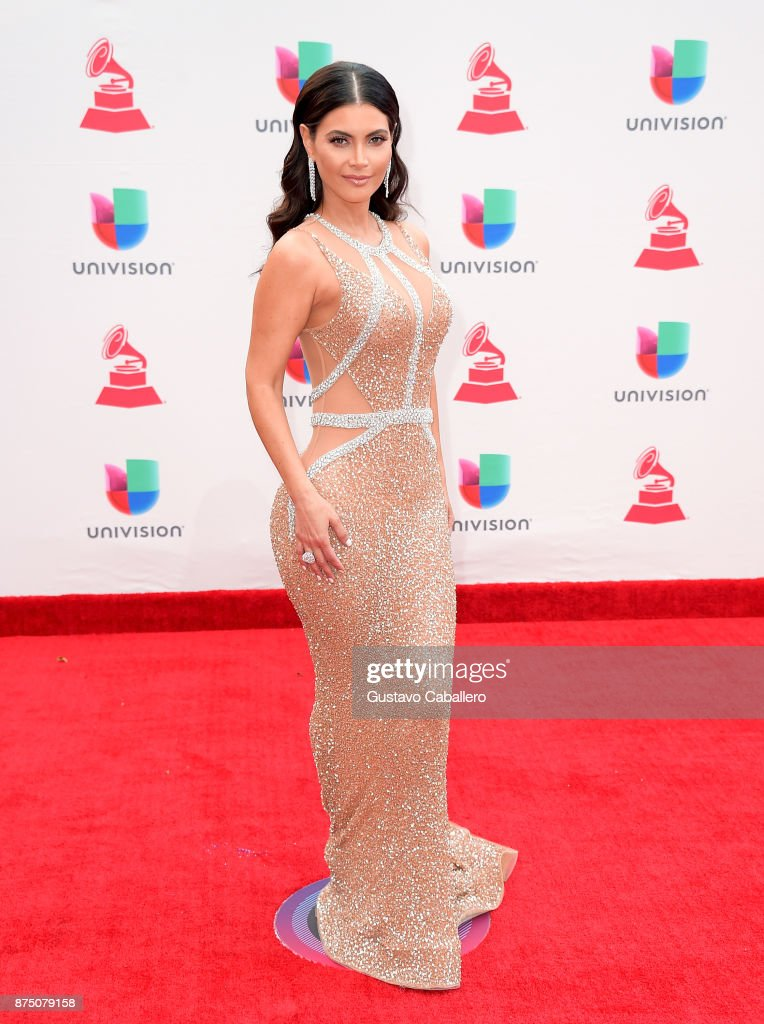 Chiquinquira Delgado attends the 18th Annual Latin Grammy Awards at MGM Grand Garden Arena on November 16, 2017 in Las Vegas, Nevada.